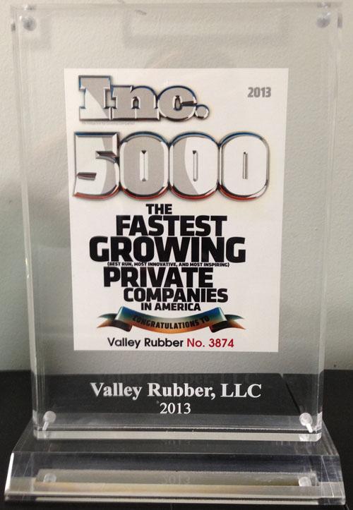 INC 5000 Program 2013