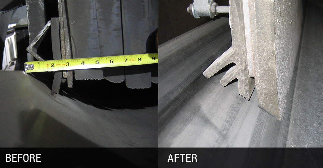 Dust Control Before and After