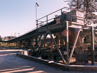 RMC Pacific Materials Overland Conveyor (3.5 miles)