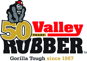 Valley Rubber 50th Anniversary Logo